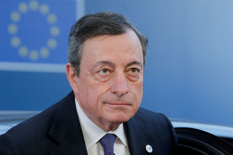 ECB's Draghi denied grand finale as economy weakens and dissent grows