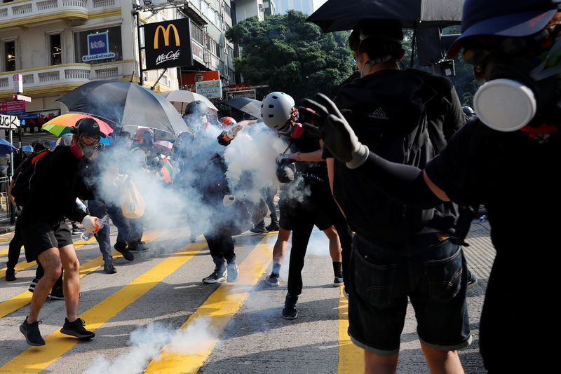 Global protests gaining attention in financial markets