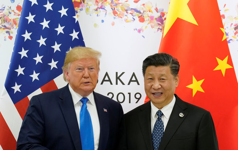 © Reuters. G20 leaders summit in Osaka