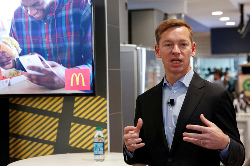 McDonald's ousts CEO over consensual relationship with employee