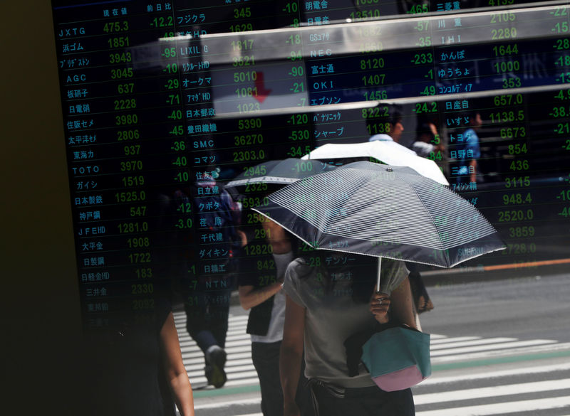 Stocks fall as traders question next move in trade war By Reuters