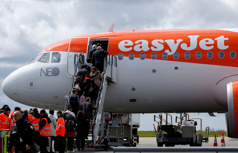 EasyJet buys Thomas Cook airport slots at Gatwick and Bristol for $46