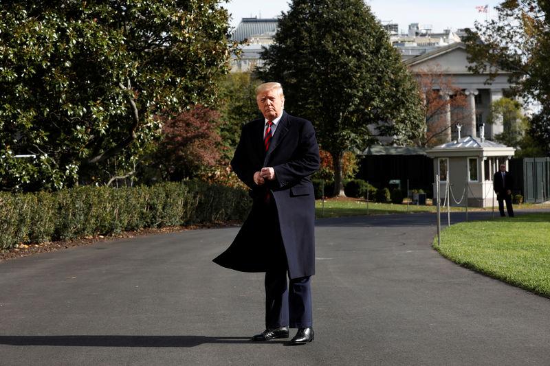 © Reuters. President Donald Trump departs the White House en route Alabama