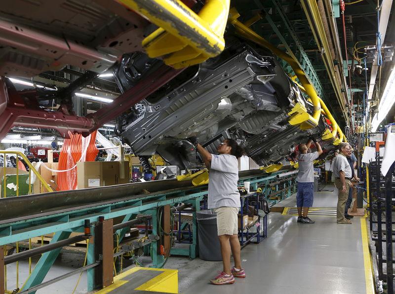 USA: Baisse plus forte qu'attendu de la production industrielle Par Re