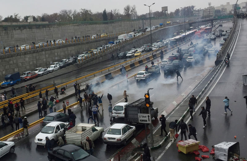 Petrol price protests turn political in Iran as rallies spread By Reut