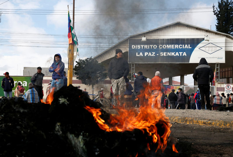 'We're desperate to buy anything': Bolivians go hungry as protests snarl cities