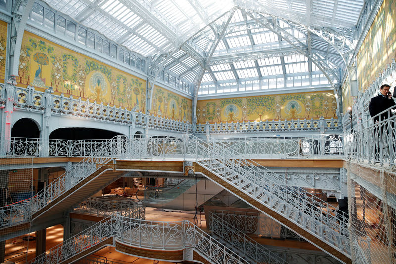 LVMH targets tourist shoppers with revamp of historic Paris store