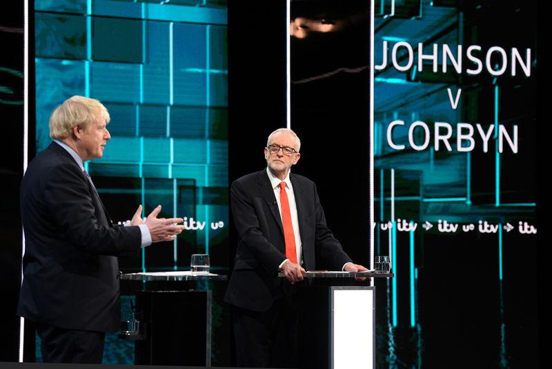 In testy leadership debate, UK PM Johnson promises speedy Brexit By Re