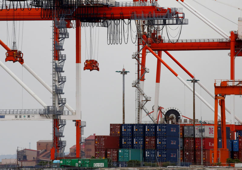 Japan's exports post worst fall in three years as shipments to U.S., C