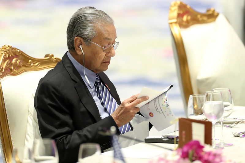Malaysia's Mahathir says cabinet reshuffle on cards after by-election