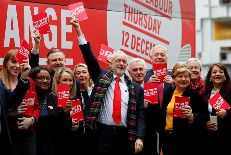 Labour Party unveils radical socialist plan for Britain By Reuters