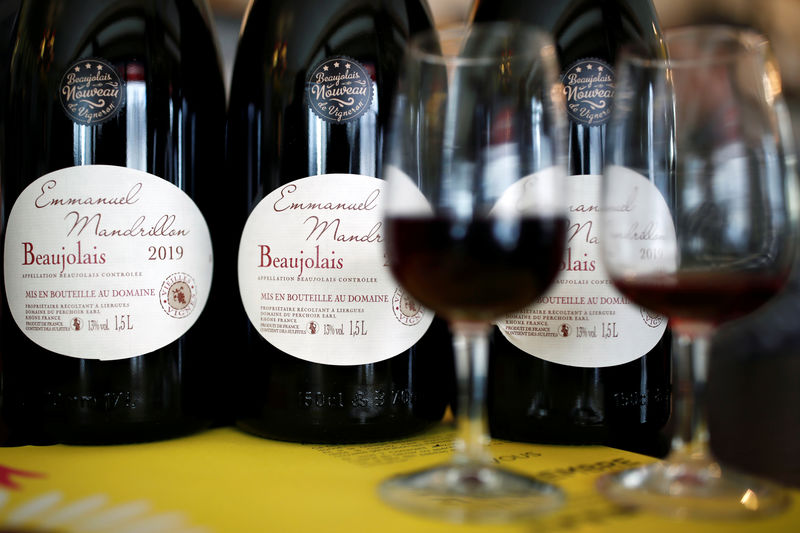 Little cheer for Beaujolais Nouveau as U.S. tariffs guzzle profits By