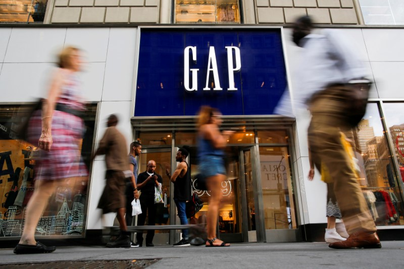 Gap's quarterly profit beats; says plan to split Old Navy in place By