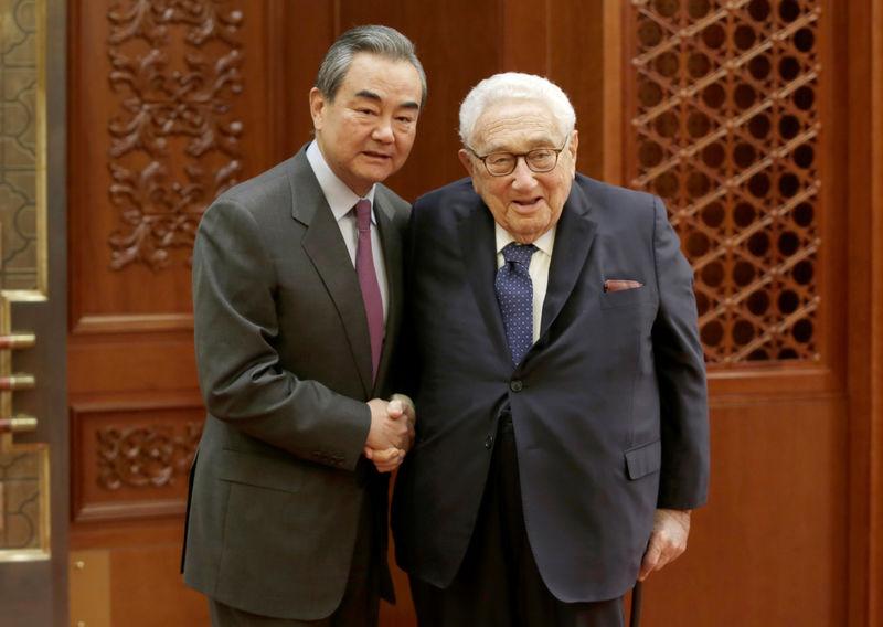Senior China diplomat urges U.S. to meet China halfway, improve relations