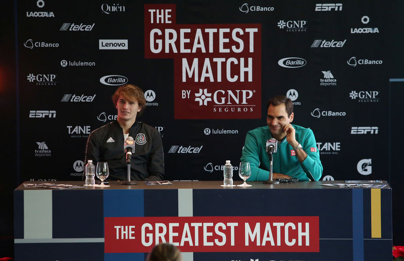 Federer and Zverev Mexico City match breaks world attendance record By