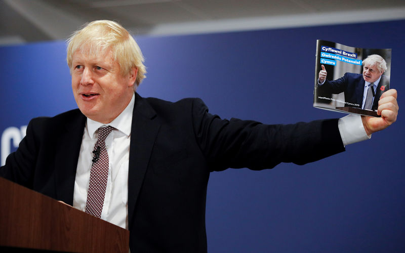 Johnson's Conservatives see lead over Labour narrow to 7 points - ICM