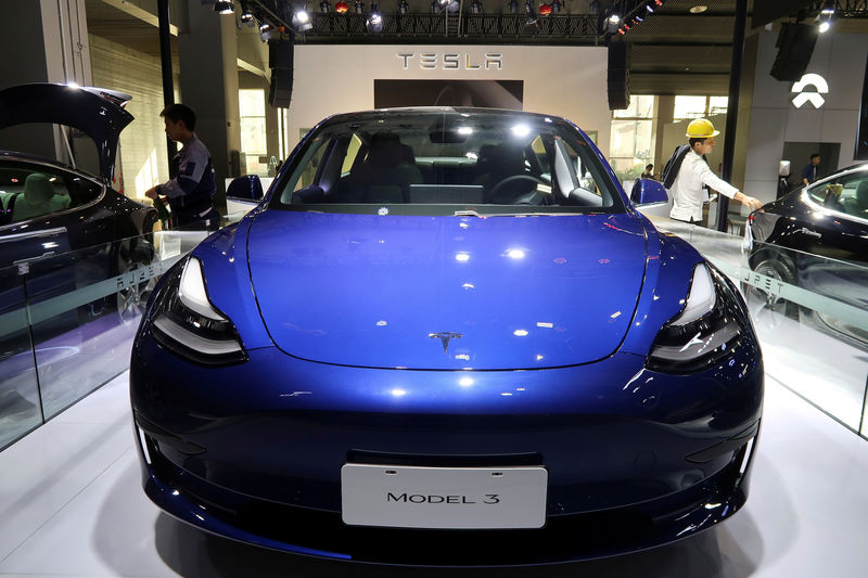 China-built Tesla cars secure new energy vehicle subsidies By Reuters