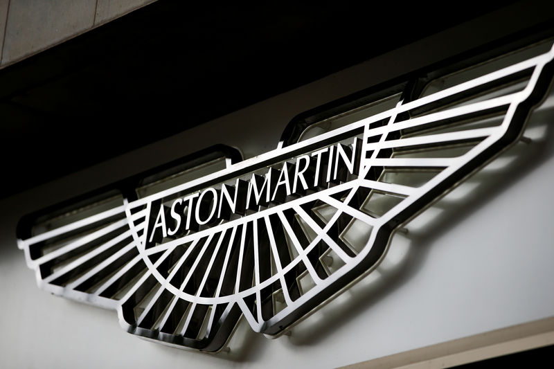 Aston Martin opens new factory to build key first SUV By Reuters
