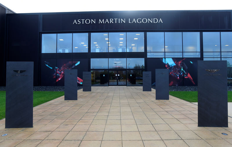 Aston Martin not actively pursuing new investors as opens SUV plant By