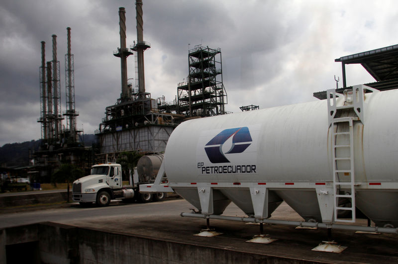 Ecuador awards 20.2 million barrel oil supply contract to Shell unit B