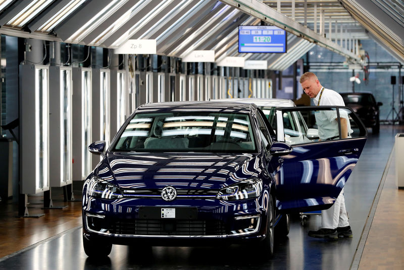 VW's German plants need to shape up, says production chief By Reuters