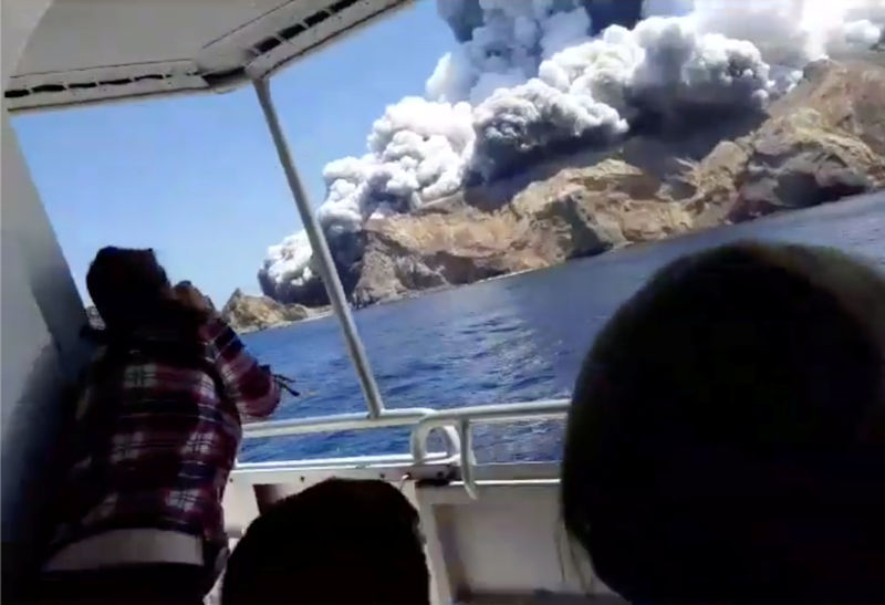 More than two dozen people feared missing after New Zealand volcanic e