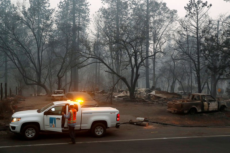 Bankrupt PG&E to take $4.9 billion more charge on wildfire victim