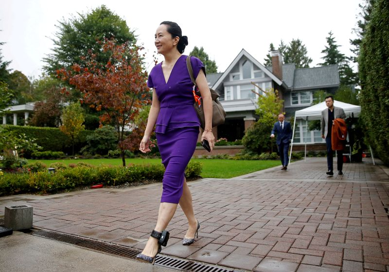 Huawei's CFO wins Canada court fight to see more documents on her arre