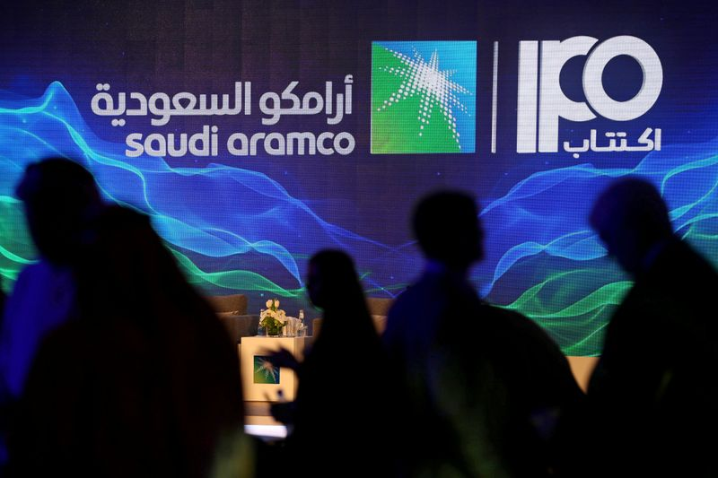 Saudi Aramco shares jump 10% on stock market debut By Reuters