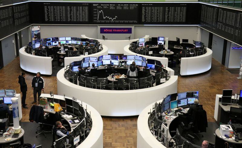 European shares edge higher ahead of UK election By Reuters