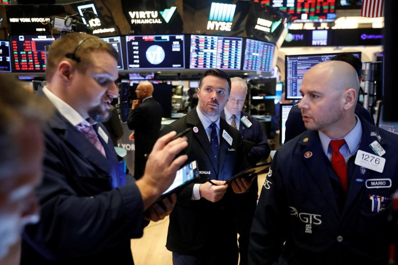 Wall Street ends near flat after U.S., China announce trade deal