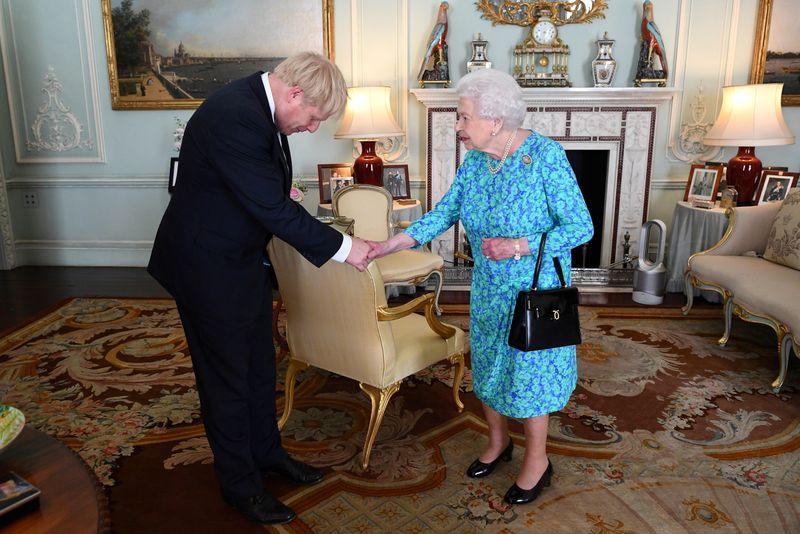 Queen Elizabeth to set out UK PM Johnson's agenda on Thursday By Reute