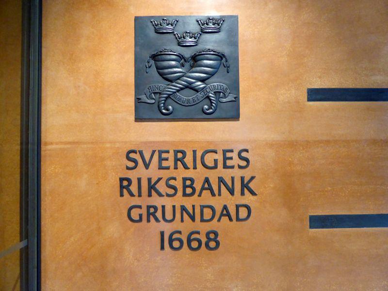 スウェーデン中銀、マイナス金利解除 主要中銀で初