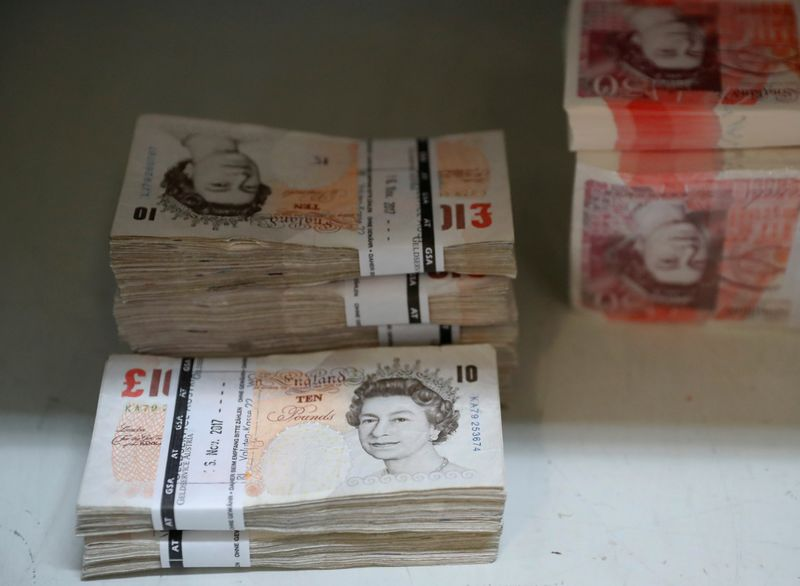 Sterling falls to three-week low against dollar By Reuters