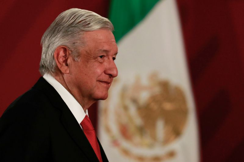 Mexico's president says not considering reopening oil auctions this year
