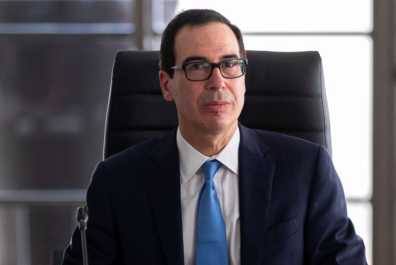Mnuchin says U.S. cannot continue to boost spending at current rate: C