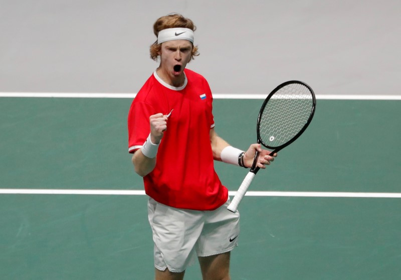 ATP roundup: Rublev rolling along in Adelaide By Reuters