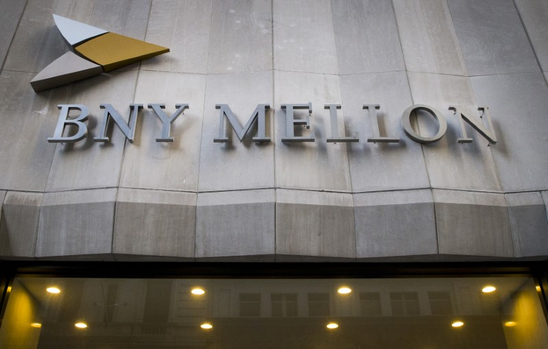 © Reuters. The Bank of New York Mellon Corp. building at 1 Wall St. is seen in New York's financial district