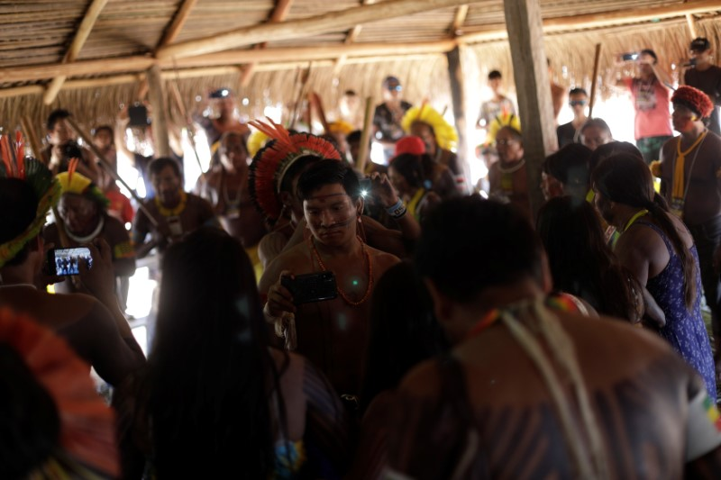 Brazil's tribes stride into digital age to defend their culture, fores