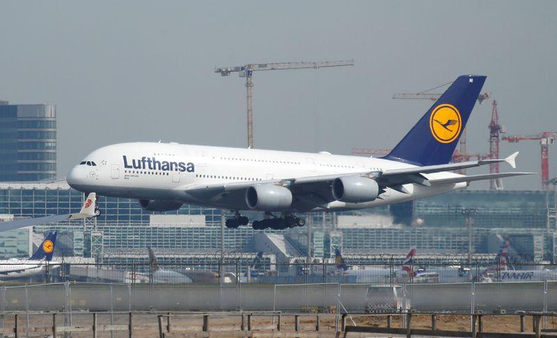 German cabin crew union plans further strikes at Lufthansa