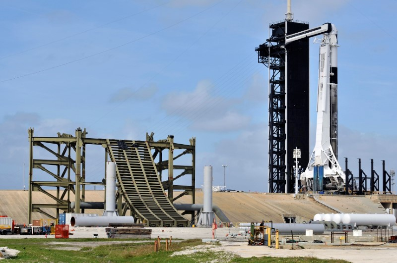 SpaceX to try rocket failure test again after bad weather delay By Reu