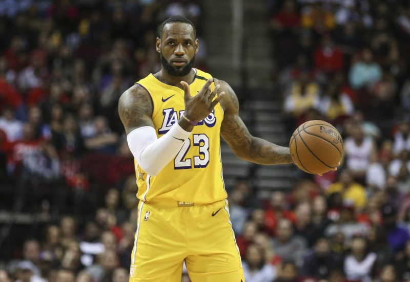 NBA roundup: LeBron, D lead Lakers by Rockets By Reuters