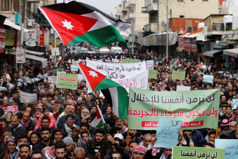 Jordan parliament passes draft law to ban gas imports from Israel By R