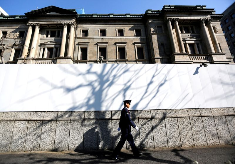BOJ holds fire, nudges up growth forecast on receding global risks By