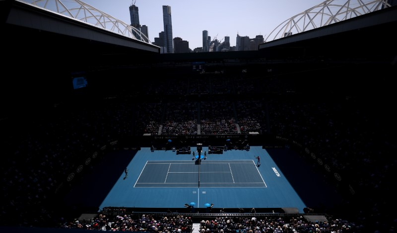 Australian Open Order Of Play On Wednesday By Reuters