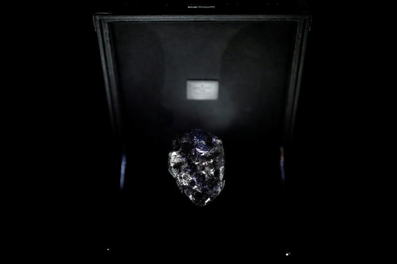Vuitton's diamond as big as a tennis ball steals the show in Paris By