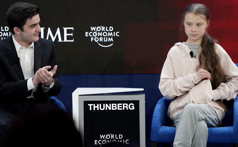 The Greta and Trump show - Davos highlights on Tuesday