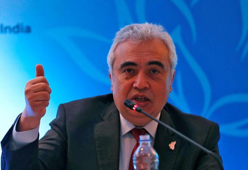 © Reuters. Fatih Birol, diretor-executivo da Agência Internacional de Energia