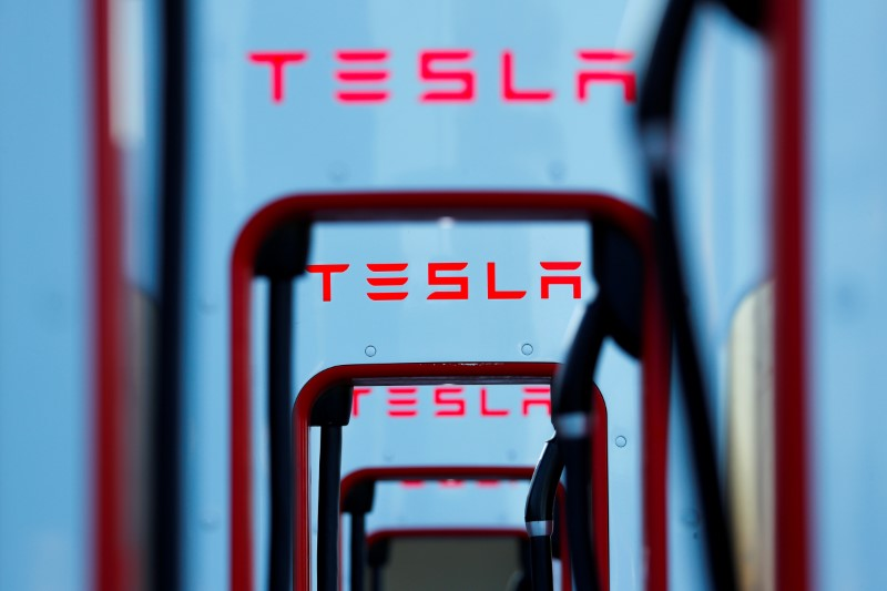 Tesla crosses $100 billion stock market valuation in extended trading