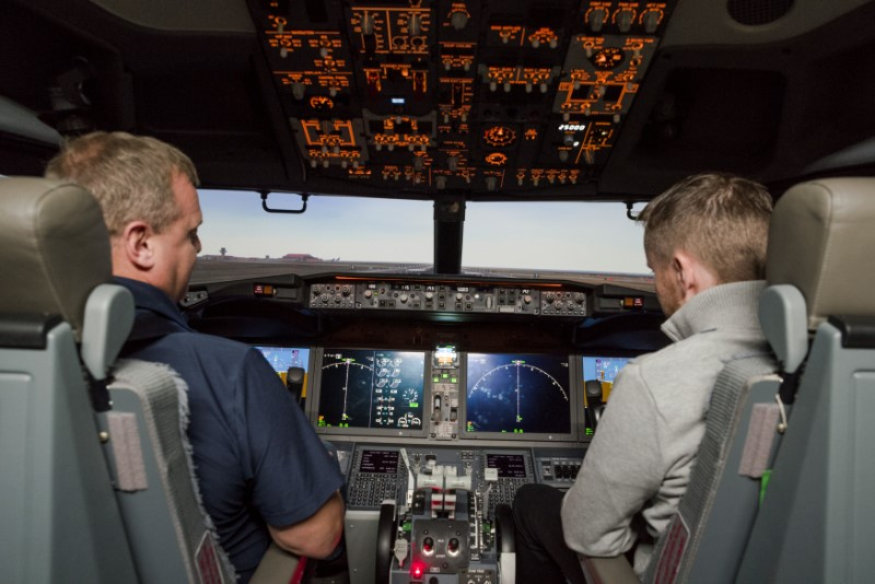 Airlines scour the world for scarce 737 MAX simulators